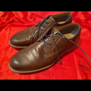Uncle Florian faux leather shoes